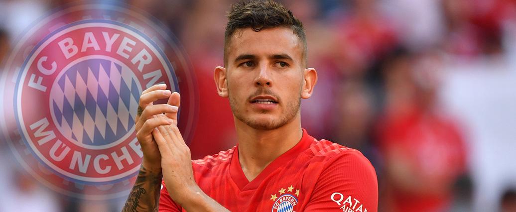 FC Bayern: Im Training voll mitgezogen