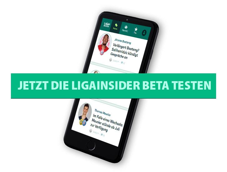 LigaInsider in der Beta-Phase