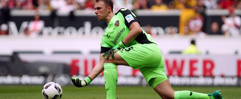 Marvin Schwäbe: Leihe zu Dynamo Dresden verlängert