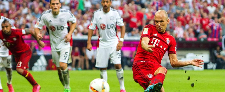 Arjen Robben: Leichte Fußblessur bei Robben