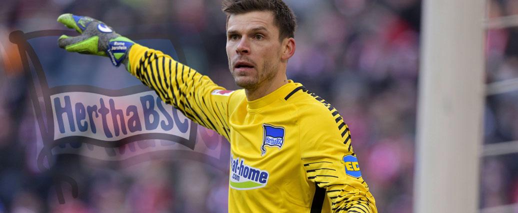 Hertha noch einmal ohne Jarstein