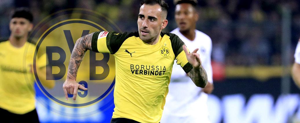 Offiziell: BVB bindet Alcácer bis 2023