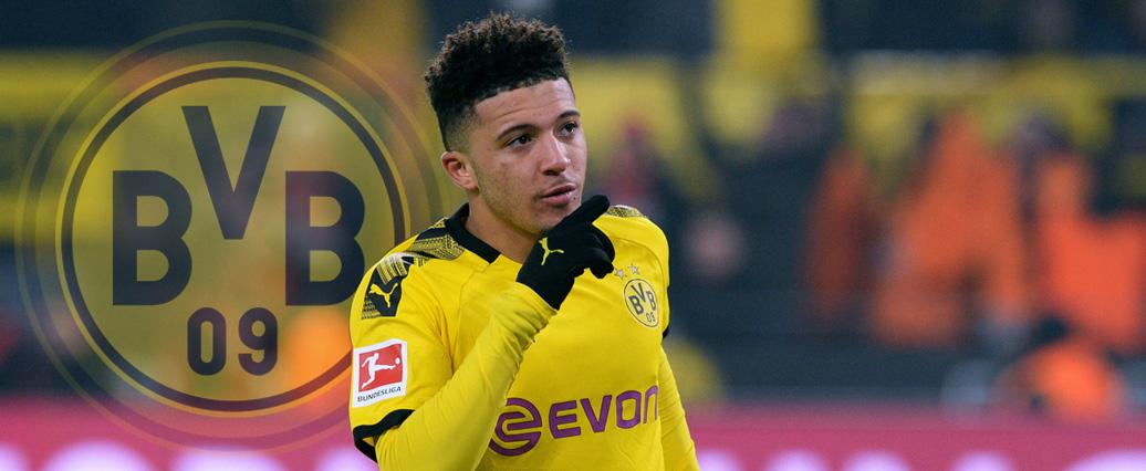 Dortmund wohl ohne Sancho in der Startelf