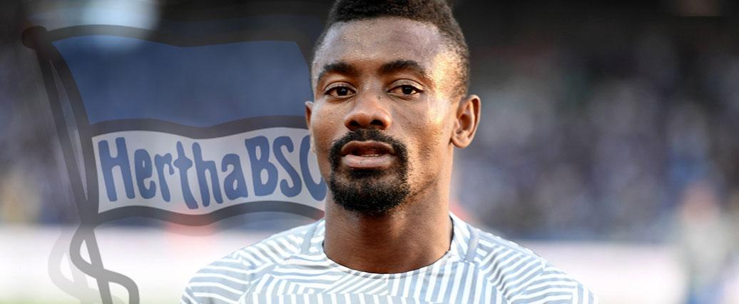Hertha BSC: Salomon Kalou missachtet DFL-Corona-Vorschriften