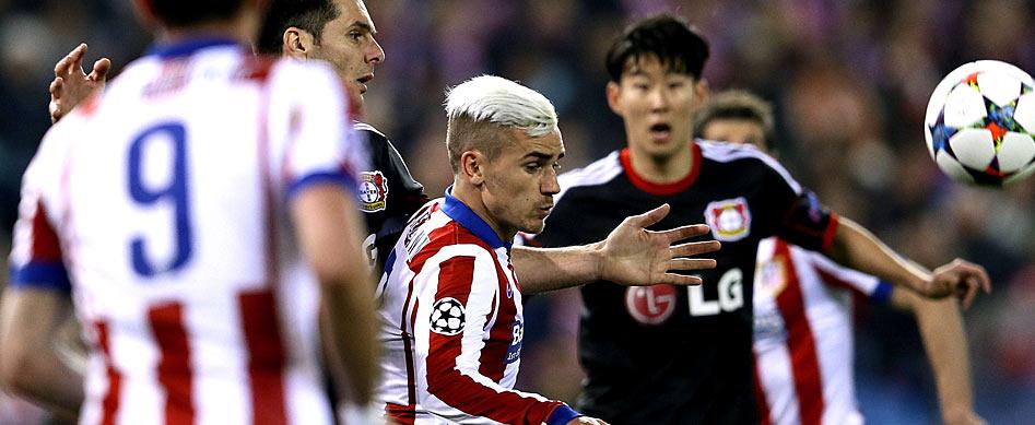 Bayer 04 Leverkusen: Leverkusen trifft auf Atlético Madrid