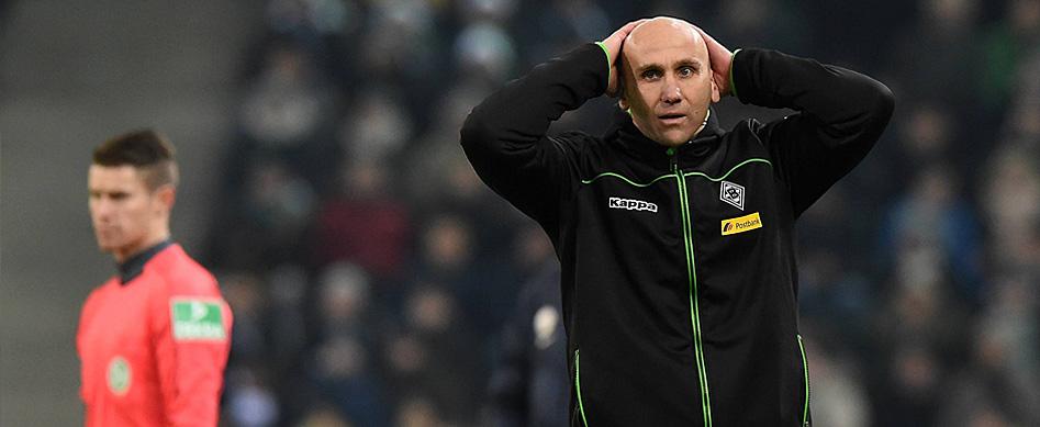Trainer Schubert in Gladbach entlassen