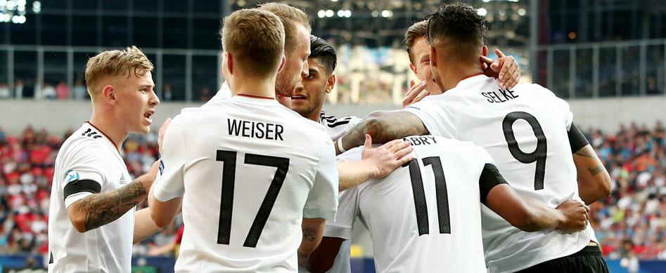 U21-EM: Deutschland gelingt Auftaktsieg