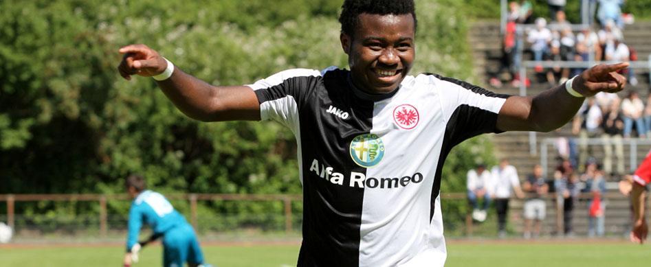 SGE-Talent Mbouhom erlitt Kreuzbandriss