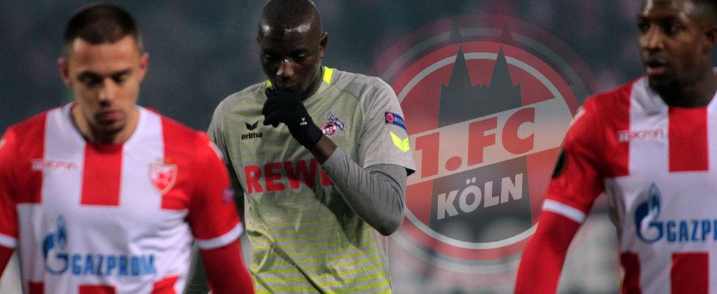 1 Fc Köln Europa League Traum Für Köln Beendet