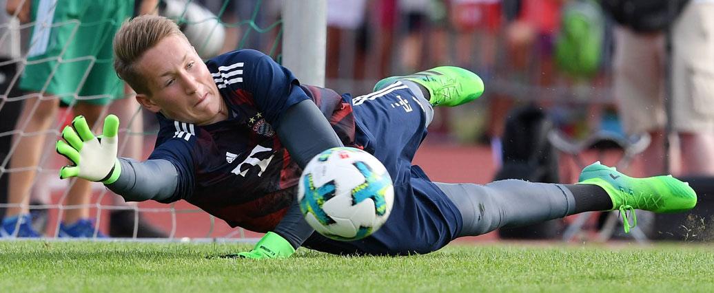 Dritter Keeper im Bayern-Trainingslager