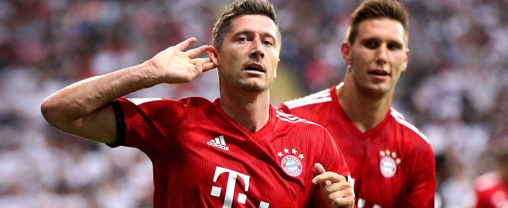 Lewandowski nimmt wieder am Training des FC Bayern teil