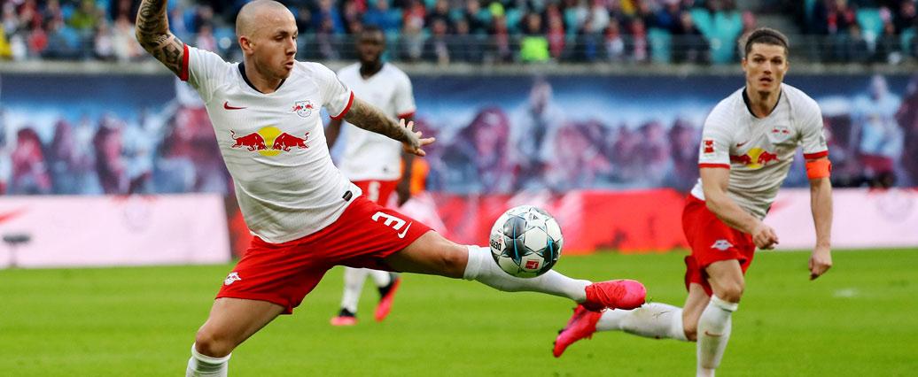 RB Leipzig: Angeliño absolviert Teile des Mannschaftstrainings