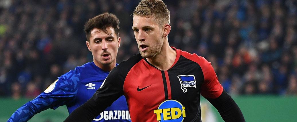 Hertha BSC: Arne Maier verpasst Testspiel mit Rückenproblemen