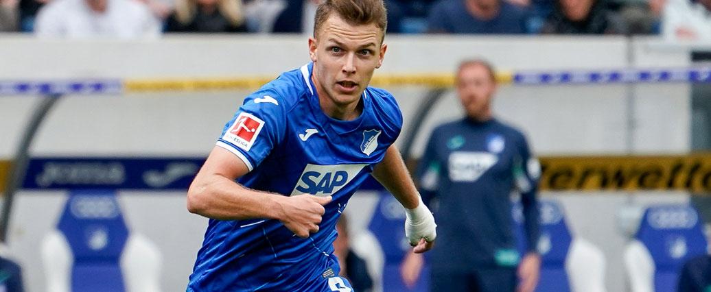TSG Hoffenheim: Dennis Geiger sieht die Rote Karte