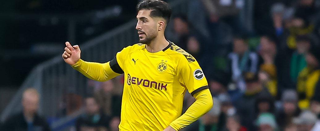 Borussia Dortmund kann am Wochenende auf Can setzen