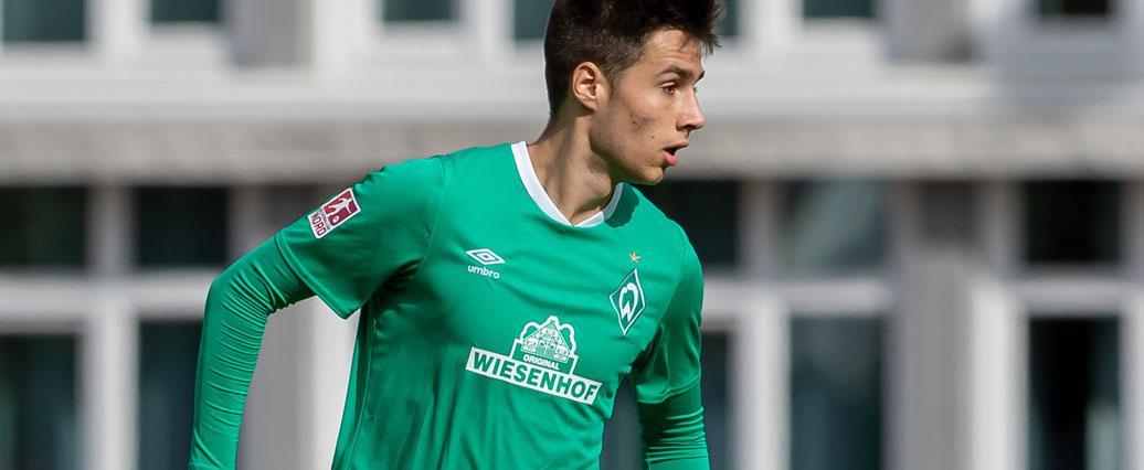 Werder Bremen: Talent Ilia Gruev muss verletzungsbedingt pausieren