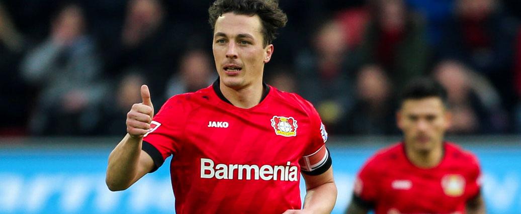 Bayer Leverkusen: Bosz befürchtet schwere Baumgartlinger-Verletzung