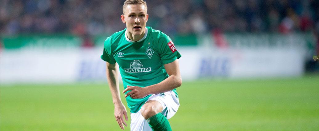 SV Werder Bremen: Ludwig Augustinsson fällt aus!
