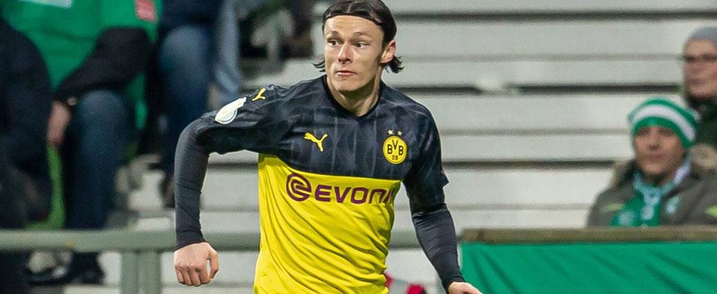 Borussia Dortmund: Nico Schulz fällt mehrere Wochen aus