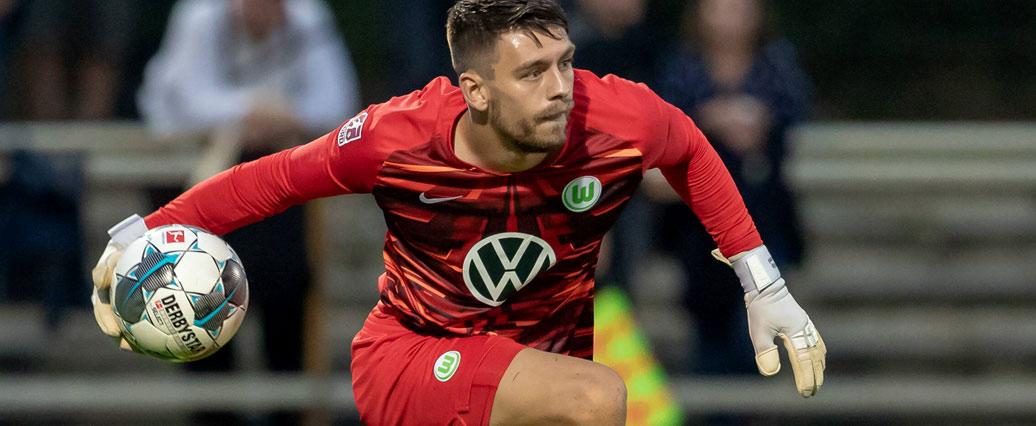 VfL Wolfsburg: Keeper Menzel wechselt nach Österreich