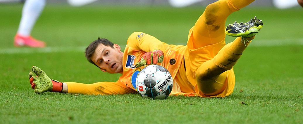 Hertha BSC: Rune Jarstein erhält neue Chance!