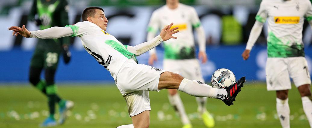 Borussia M'gladbach: Stefan Lainer ist nach Wolfsburg angeschlagen