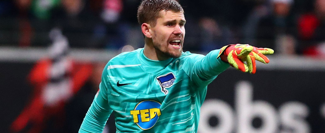 Hertha BSC: Torhüter Thomas Kraft bestätigt Karriereende