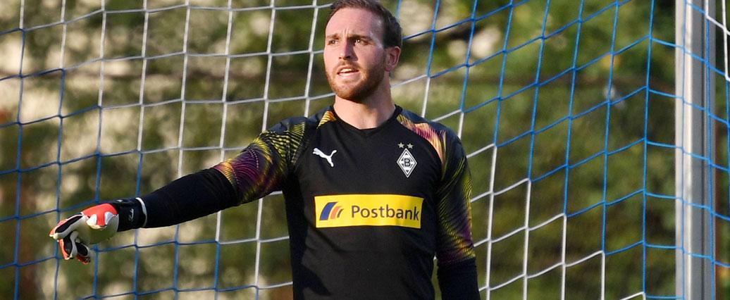 Borussia Mönchengladbach: Keeper Tobias Sippel an der Hand verletzt