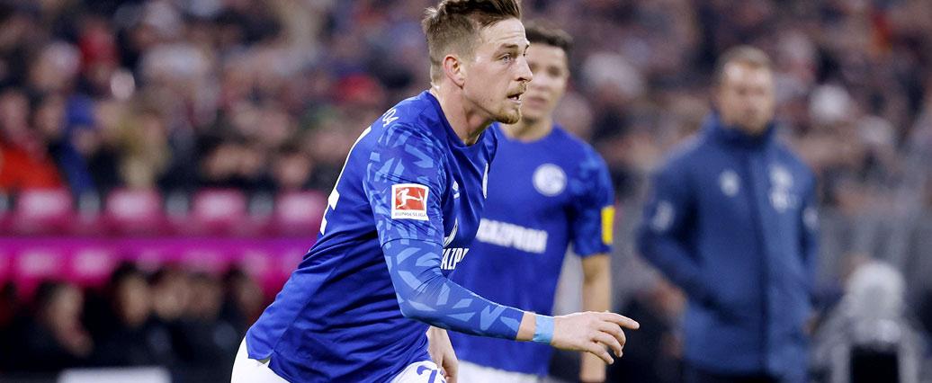 FC Schalke: Bastian Oczipka absolviert Lauftraining