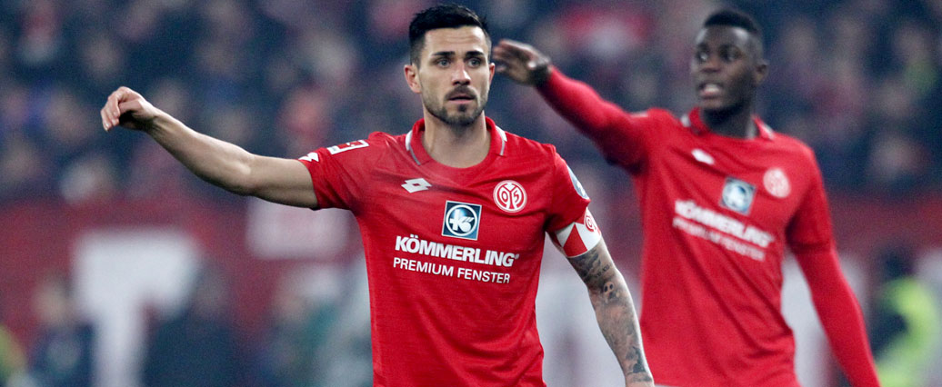 Mainz 05: Danny Latza nach Köln-Spiel leicht angeschlagen