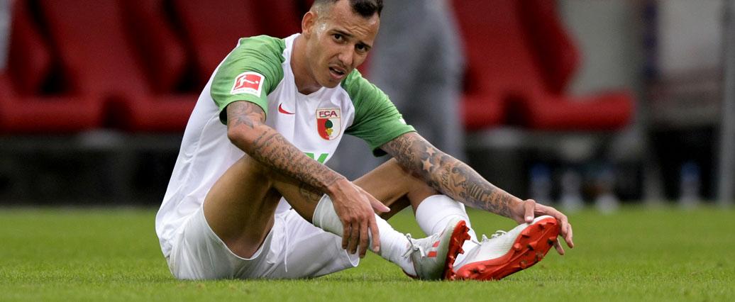 FC Augsburg gibt Entwarnung bei Iago: Keine Operation notwendig
