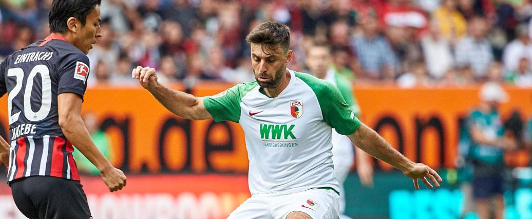 FC Augsburg: Jan Morávek fällt gegen Bayern aus