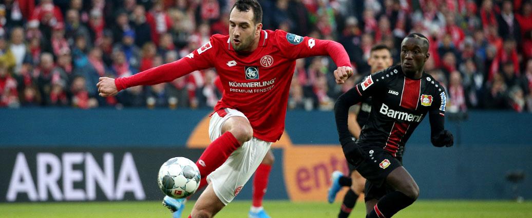FSV Mainz 05: Levin Öztunali verletzungsbedingt ausgewechselt