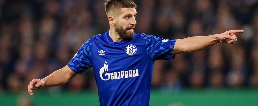 FC Schalke: Matija Nastasić angeschlagen vom Platz