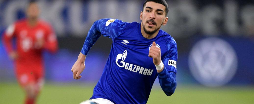 FC Schalke: Nassim Boujellab ist laut Gross fraglich