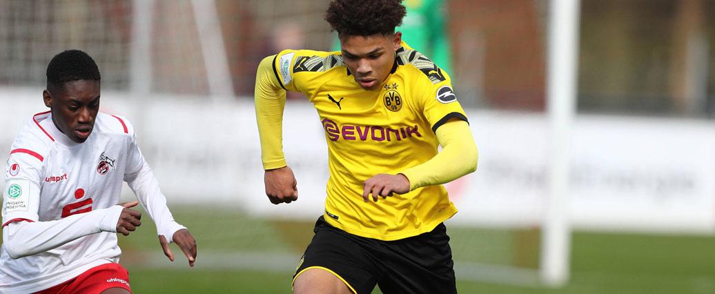 Borussia Dortmund: Nnamdi Collins fällt mehrere Wochen aus