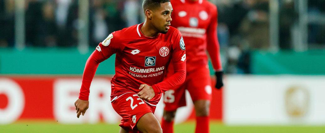 Phillipp Mwene verlässt den 1. FSV Mainz 05 am Saisonende!