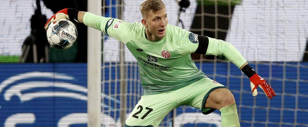 1. FSV Mainz 05: Robin Zentner der Favorit im Tor?
