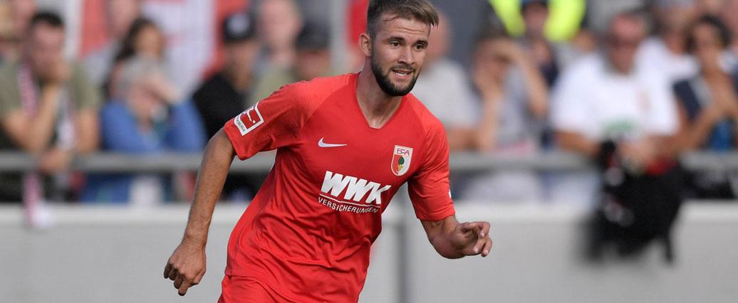 FC Augsburg: Simon Asta bleibt dem Verein wohl erhalten