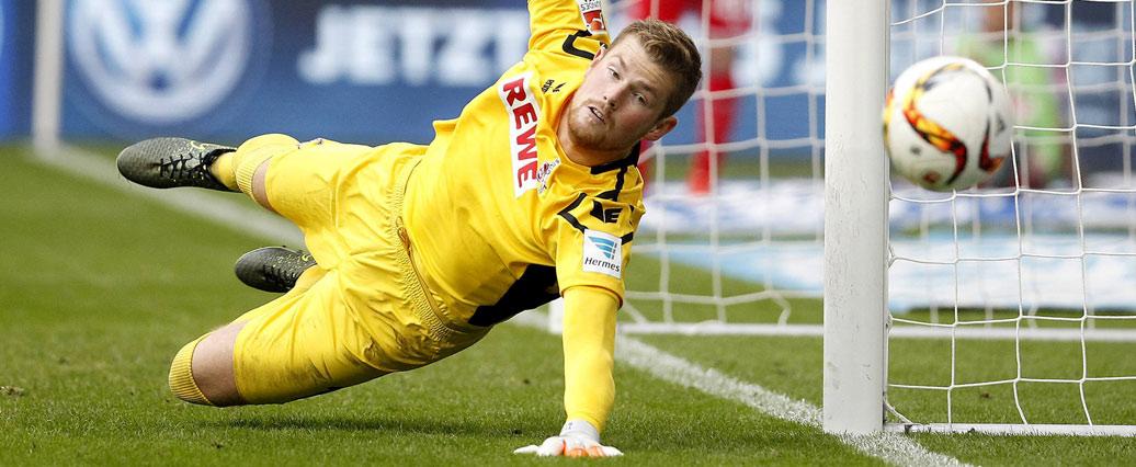 1. FC Köln: Markus Gisdol stärkt Tim Horn den Rücken