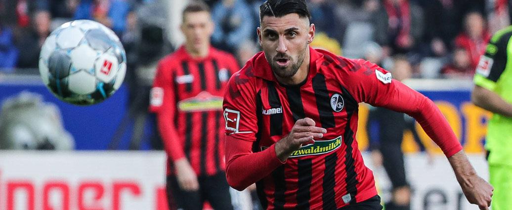 SC Freiburg: Für Vincenzo Grifo wird es eng mit Spiel gegen Werder