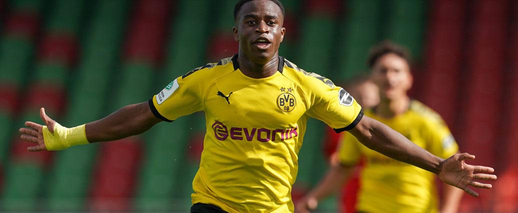 Borussia Dortmund: Youssoufa Moukoko darf auf die Startelf hoffen - LigaInsider