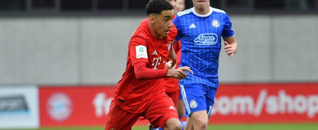 FC Bayern München: England-Talent Musiala erstmals im Kader