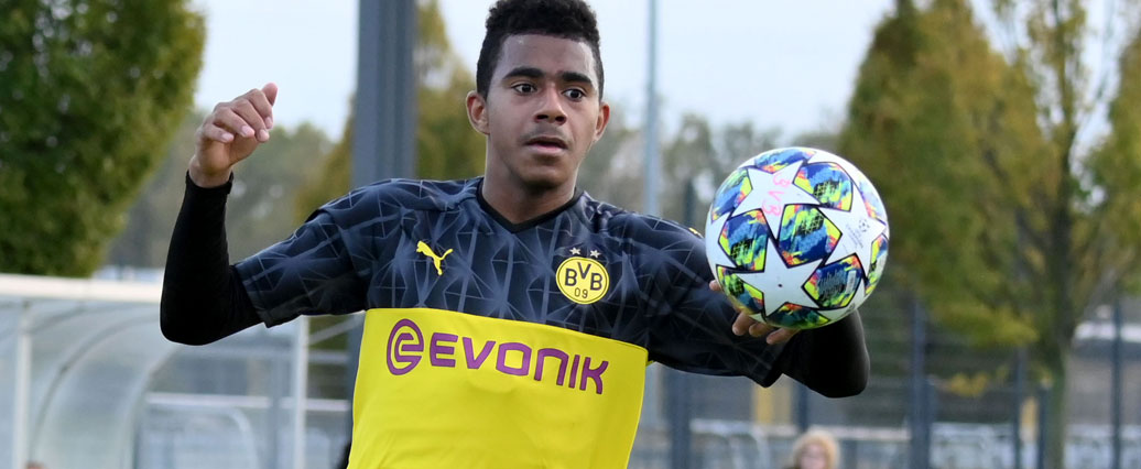 Borussia Dortmund: Ansgar Knauff erhält Lizenzspielervertrag!