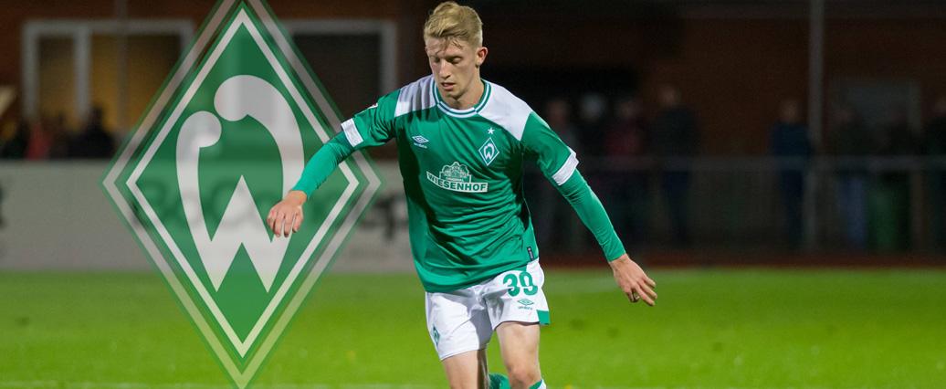 Werder Bremen: Jan-Niklas Beste versucht sein Glück in der 2. Liga