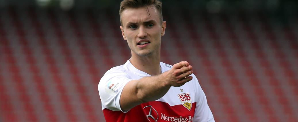 VfB Stuttgart: Sasa Kalajdzic ist wieder auf dem Platz