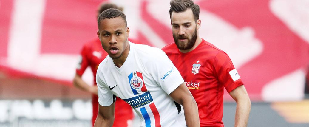 Nikolas Nartey wechselt vom VfB Stuttgart zum SV Sandhausen