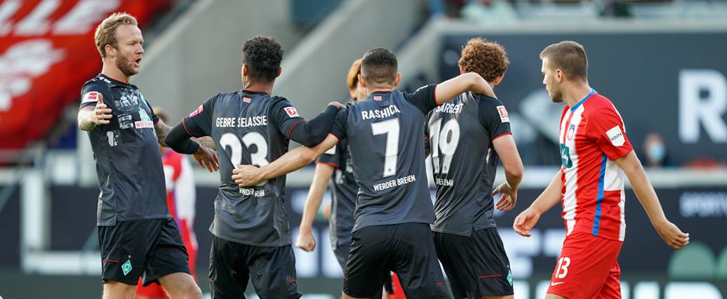 Bundesliga: Werder Bremen hält gegen Heidenheim die Klasse!