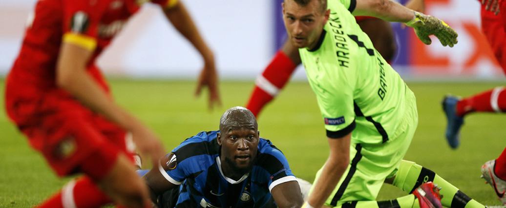 Bayer Leverkusen scheidet gegen Inter aus der Europa League aus