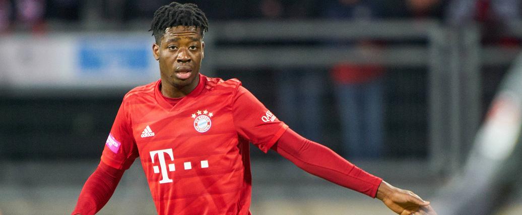 Bright Arrey-Mbi feiert sein Profidebüt für den FC Bayern München!